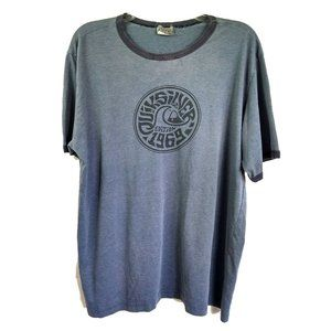 QUIKSILVER 1969 Edition Banded Distressed T-shirt